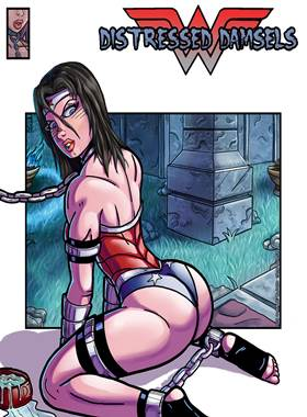 Distressed Damsels – Wonder Woman