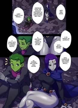 Teen Titans doujin