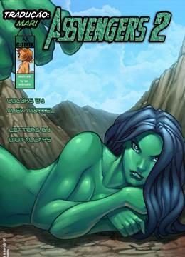 Assvengers 2 – Hulk fodendo a prima