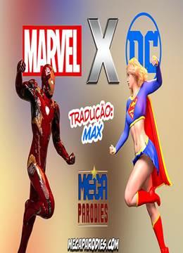 Marvel x DC – SuperGirl e Homem de Ferro