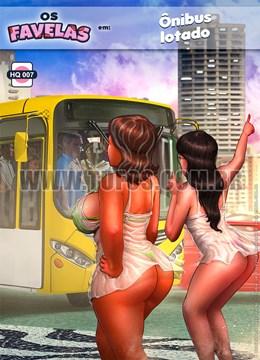 Ônibus lotado – Os Favelas