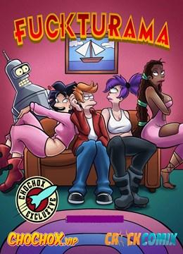 Simpsons e Fuckturama: Universo do Sexo