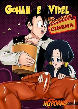 Gohan e Videl no escurinho do Cinema
